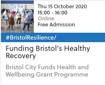 Funding Bristol's Healthy Recovery Event 2